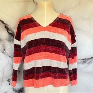 Express Striped Sweater